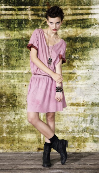 LS27 t shirt dress