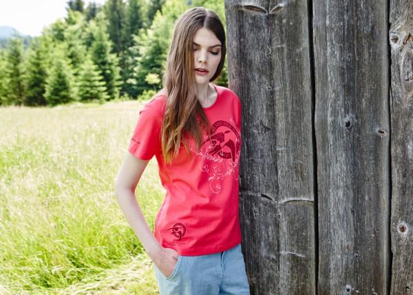 Damen T-Shirt Schwalbennest